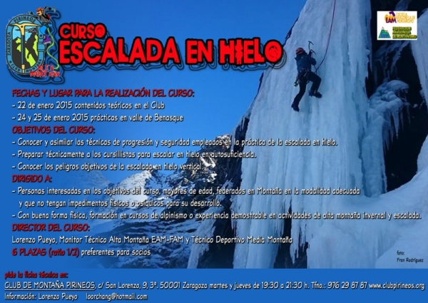 MINI cartel curso escalada en hielo 24 25 enero 2015 copia